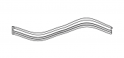 Box seal gasket 400316R 5mm for SH50